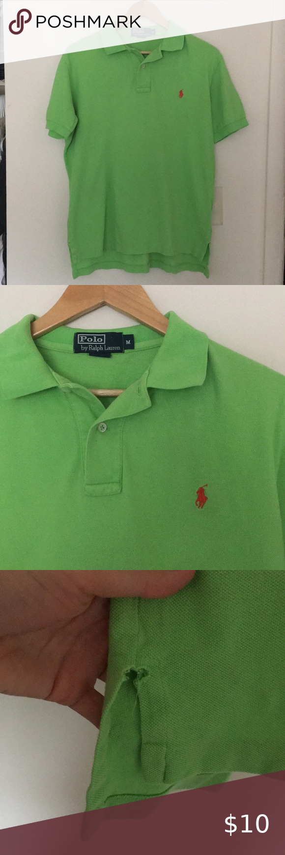 Polo By Ralph Lauren Polo Shirt Lime Green Polo Shirt Perfect Condition Aside From Slight Pulling Polo Ralph Lauren Ralph Lauren Polo Shirts Green Polo Shirts