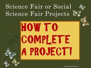 science fair projects ppt