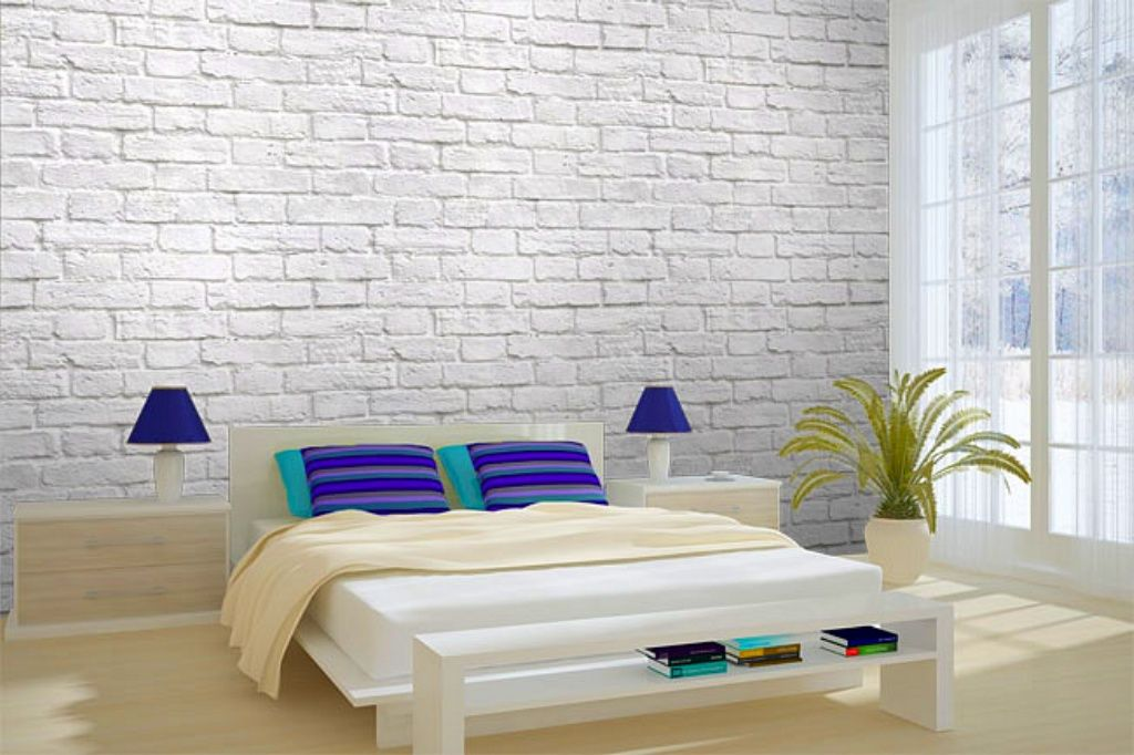 Captivating 13+ Most Popular Accent Wall Ideas For Your Living Room. Brick Wallpaper  BedroomBedroom ...
