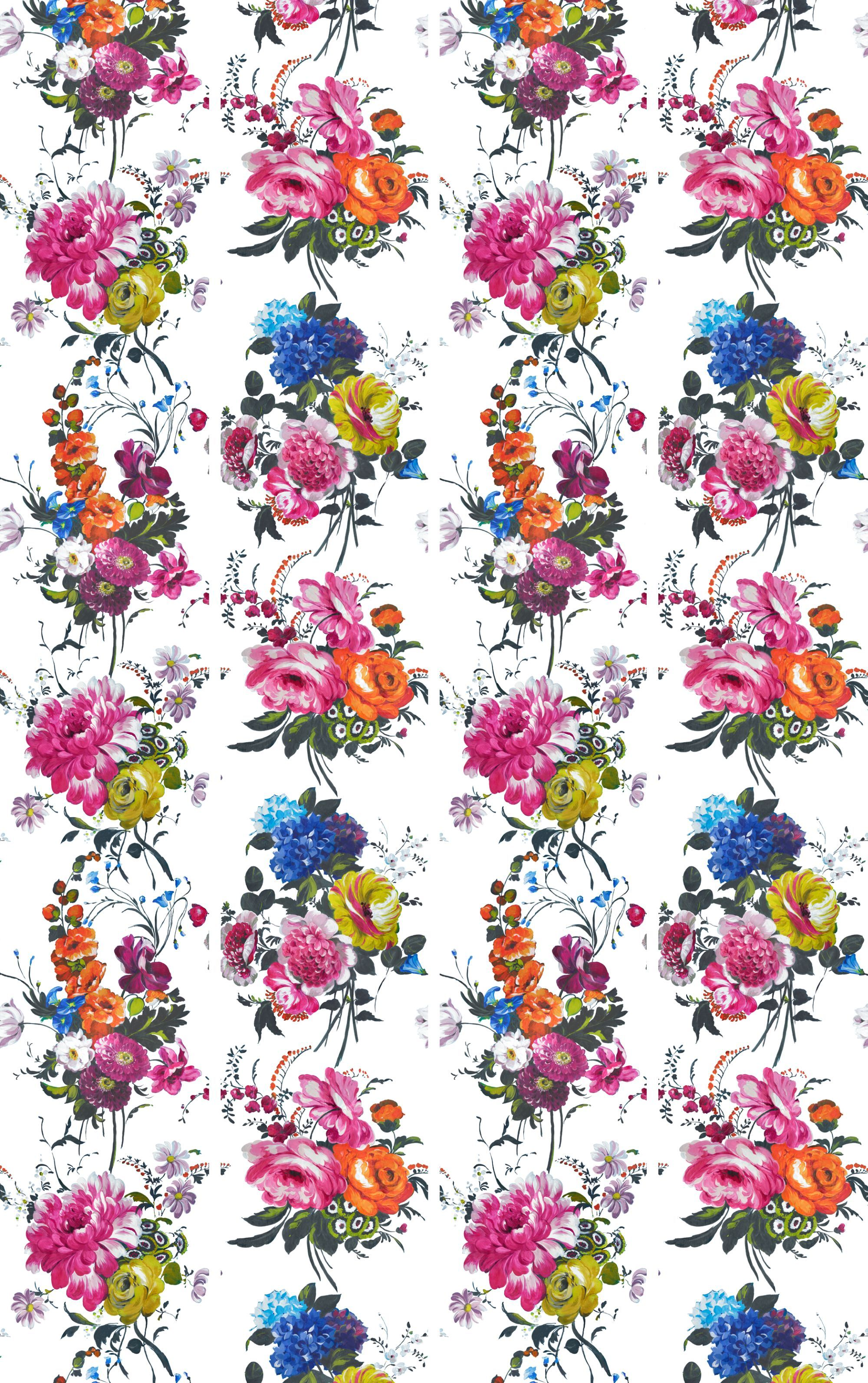 Amrapali panels by Designers Guild Peony Mural P578