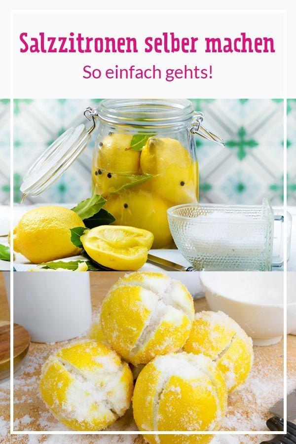 Salzzitronen selber machen - so geht's | LECKER