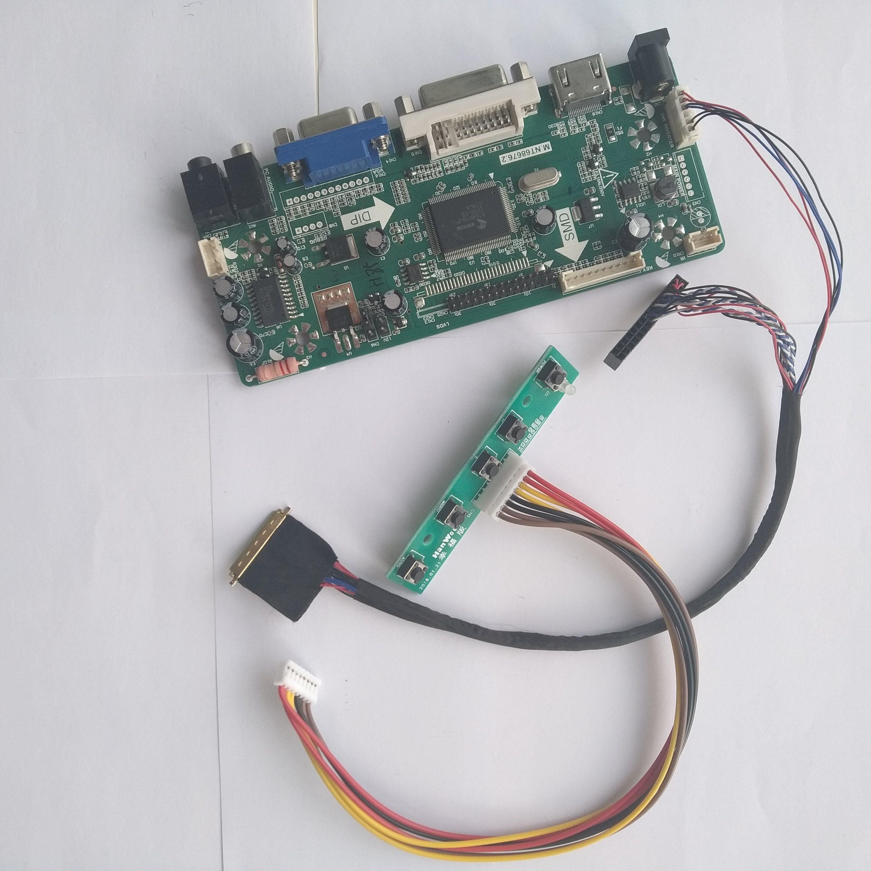 Kit for N140BGE-L42 LCD LED LVDS Controller Driver Board HDMI+DVI+VGA