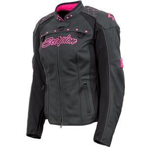 Scorpion - Women's Vixen Leather Jacket - Pink