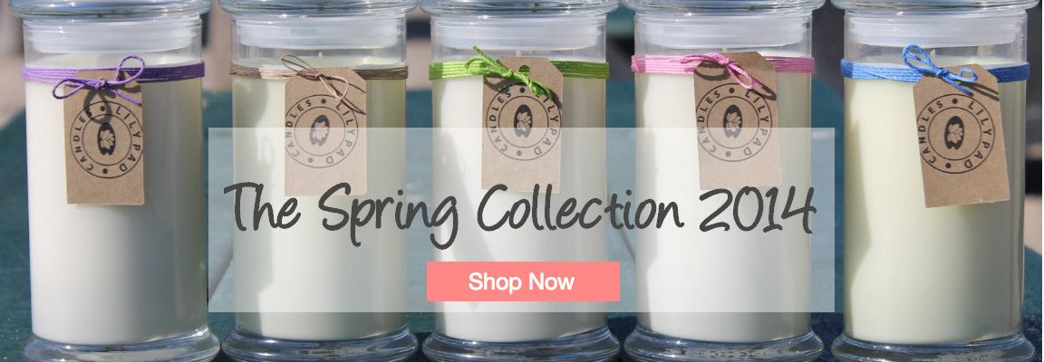 lilypadcandles | Lilypad Candles - 100% all natural soy candles
