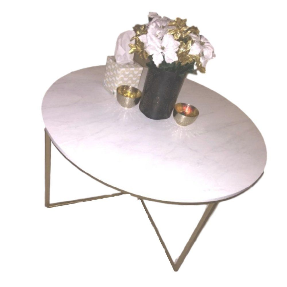 36 Inch Round Table White Gold Coffee Traditional Metal Faux Marble Contemporary Vintage And Ebook By Oistria You Can F Round Coffee Table Faux Marble Table [ 1000 x 1000 Pixel ]