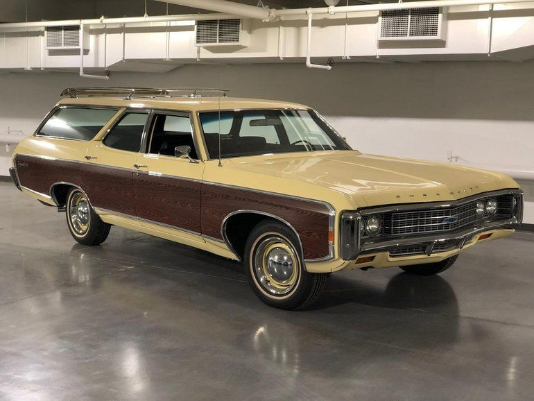 1969 Chevrolet Kingswood Station Wagon In 2020 Station Wagon