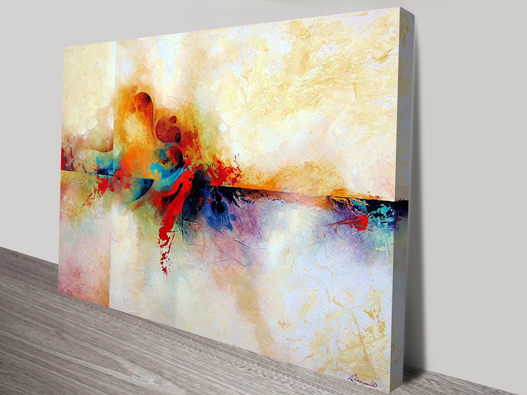 One Of Our More Popular Abstract Painting Prints On Canvas,