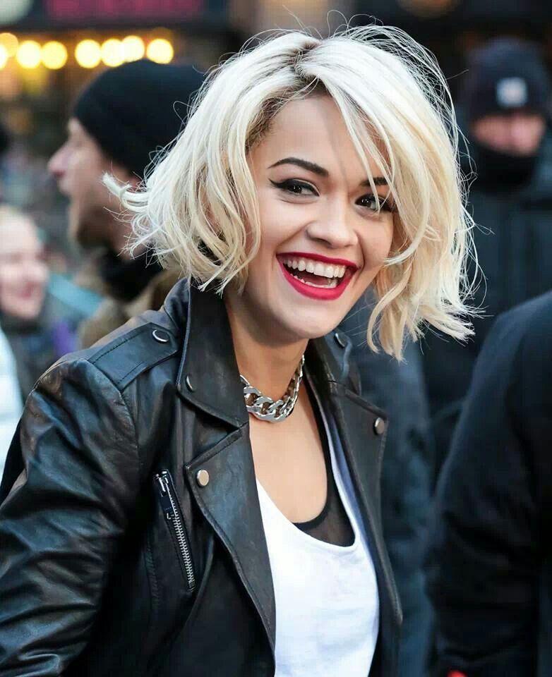 Rita Ora. Love her hair