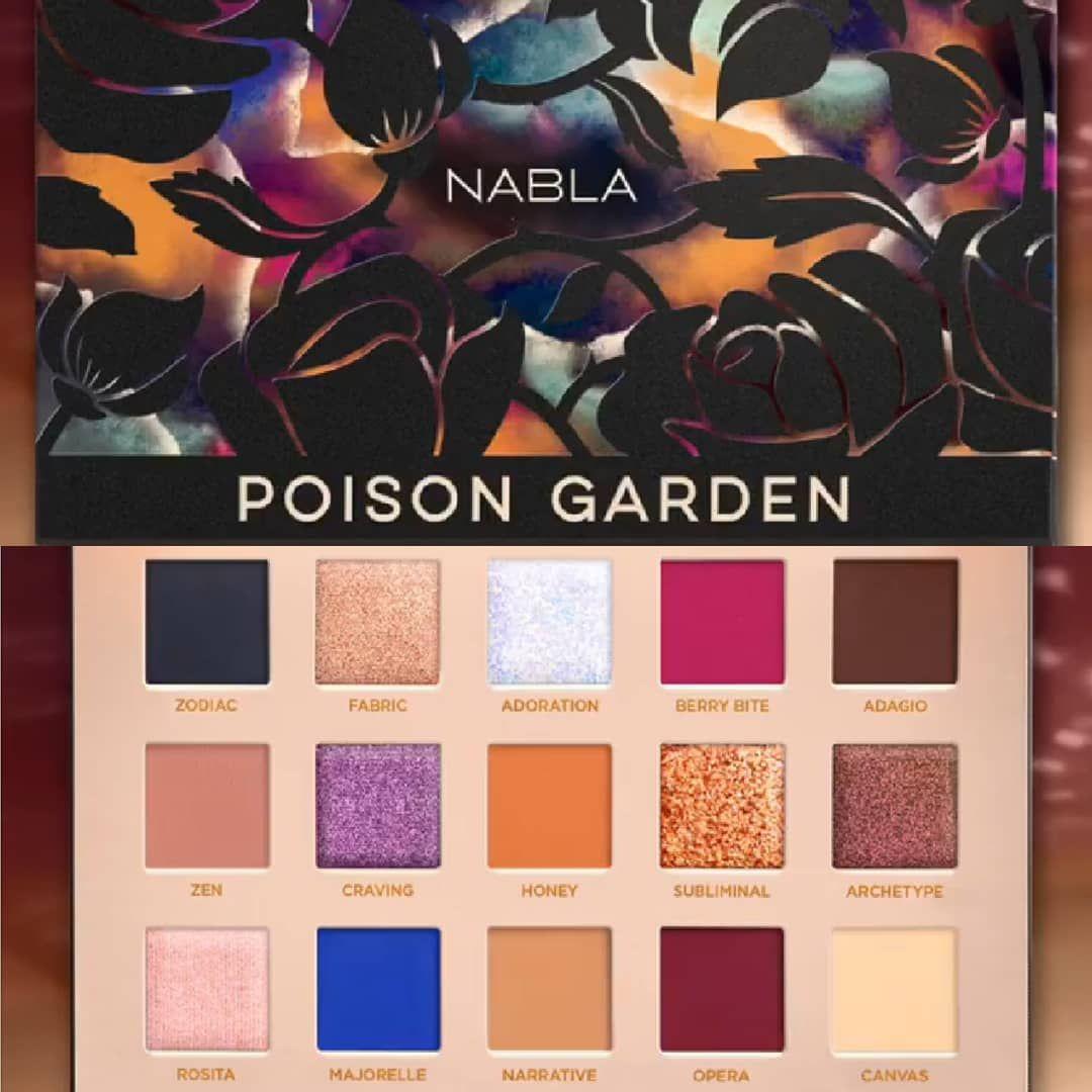 Znalezione obrazy dla zapytania Nabla Poison Garden Pressed Pigment Palette