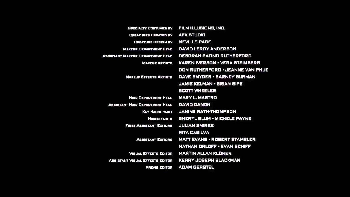 Who S Who In Movie Credits What Do All Those People Do Anyway Film Credits Movies Video Film