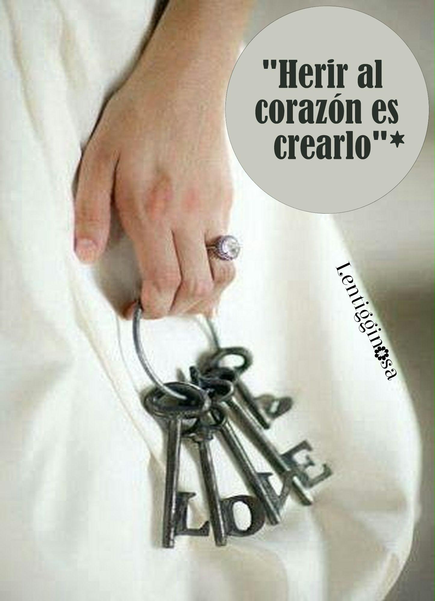HERIR EL CORAZÓN ES CREARLO* | POST LENTIGGINOSA* | Pinterest
