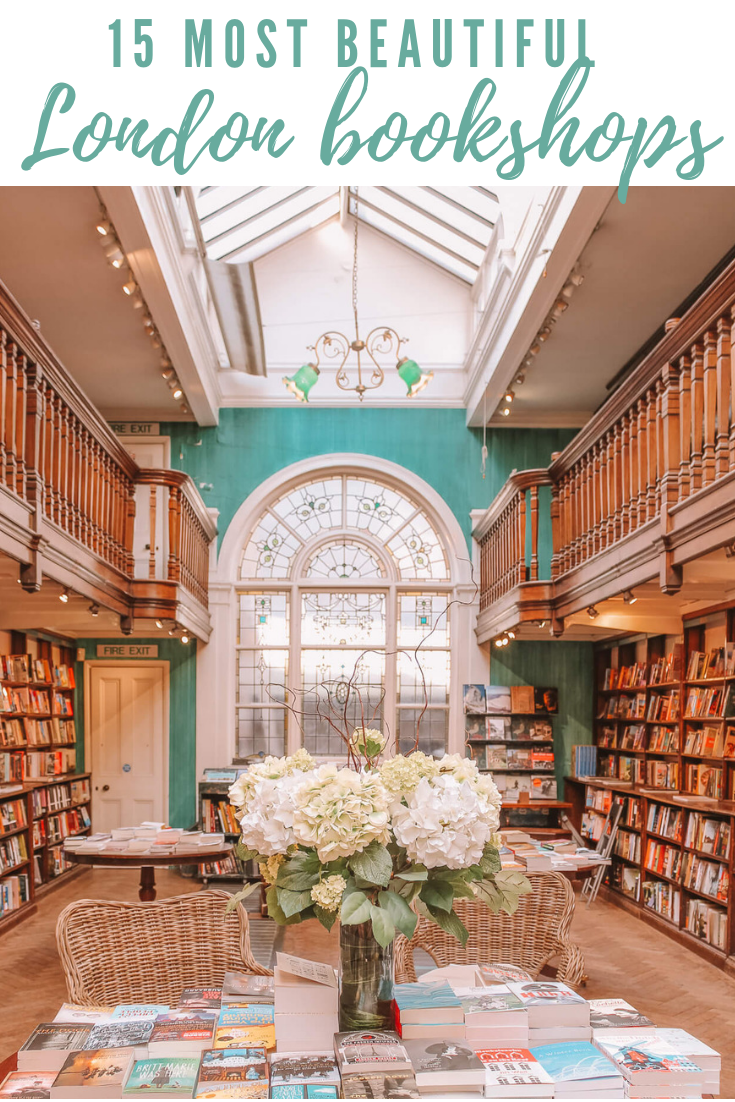 These are 15 of the most beautiful bookshops in London. London is home to some of the most beautiful bookshops in the world. These are all independent bookshops in London and they stock a variety of old and new, fiction and non-fiction etc. Perfect for bookworms in London! #whatshotblog #bookshopporn #bookstagram #bookshops #travelLondon
