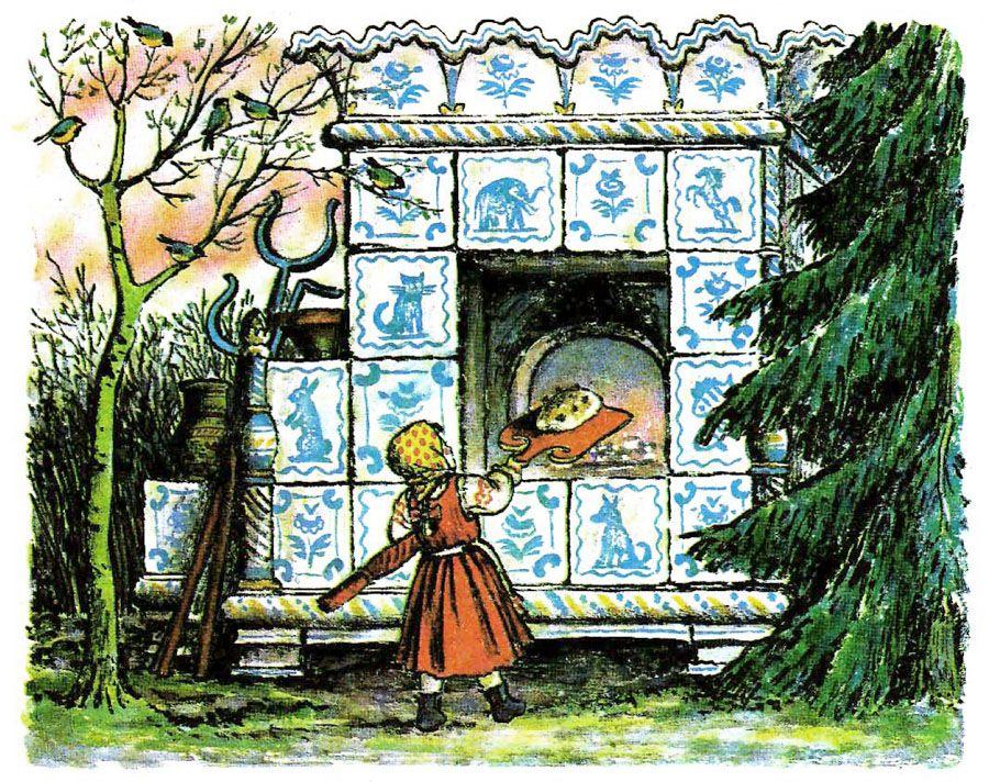 План в картинках к сказке мороз иванович
