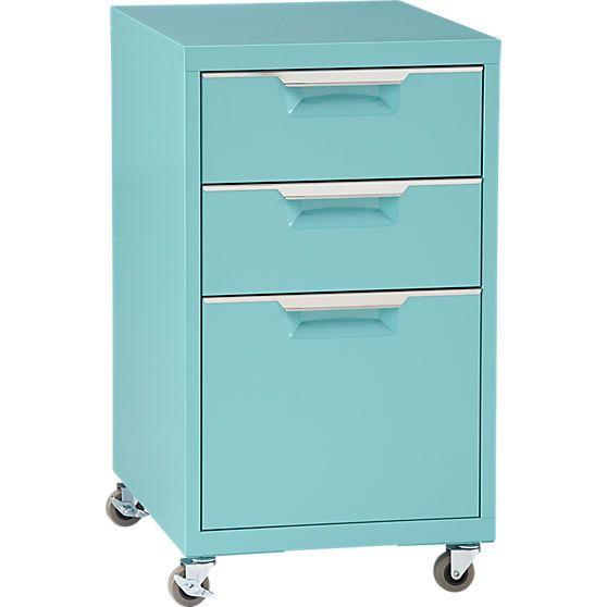 Tps Aqua File Cabinet In Office Furniture Cb2 Filing Cabinet Drawer Filing Cabinet Office Furniture Modern