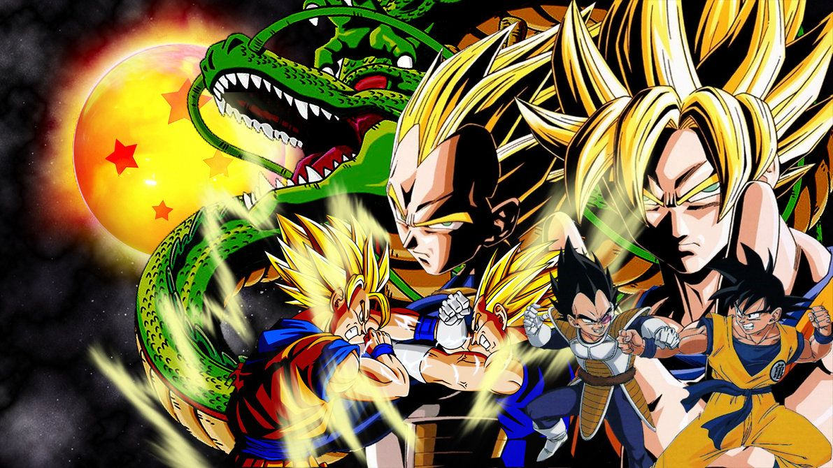 Goku And Vegeta Wallpaper Google Search Goku Wallpaper Dragon Ball Art Goku Vs