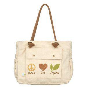 The perfect organic diaper bag.