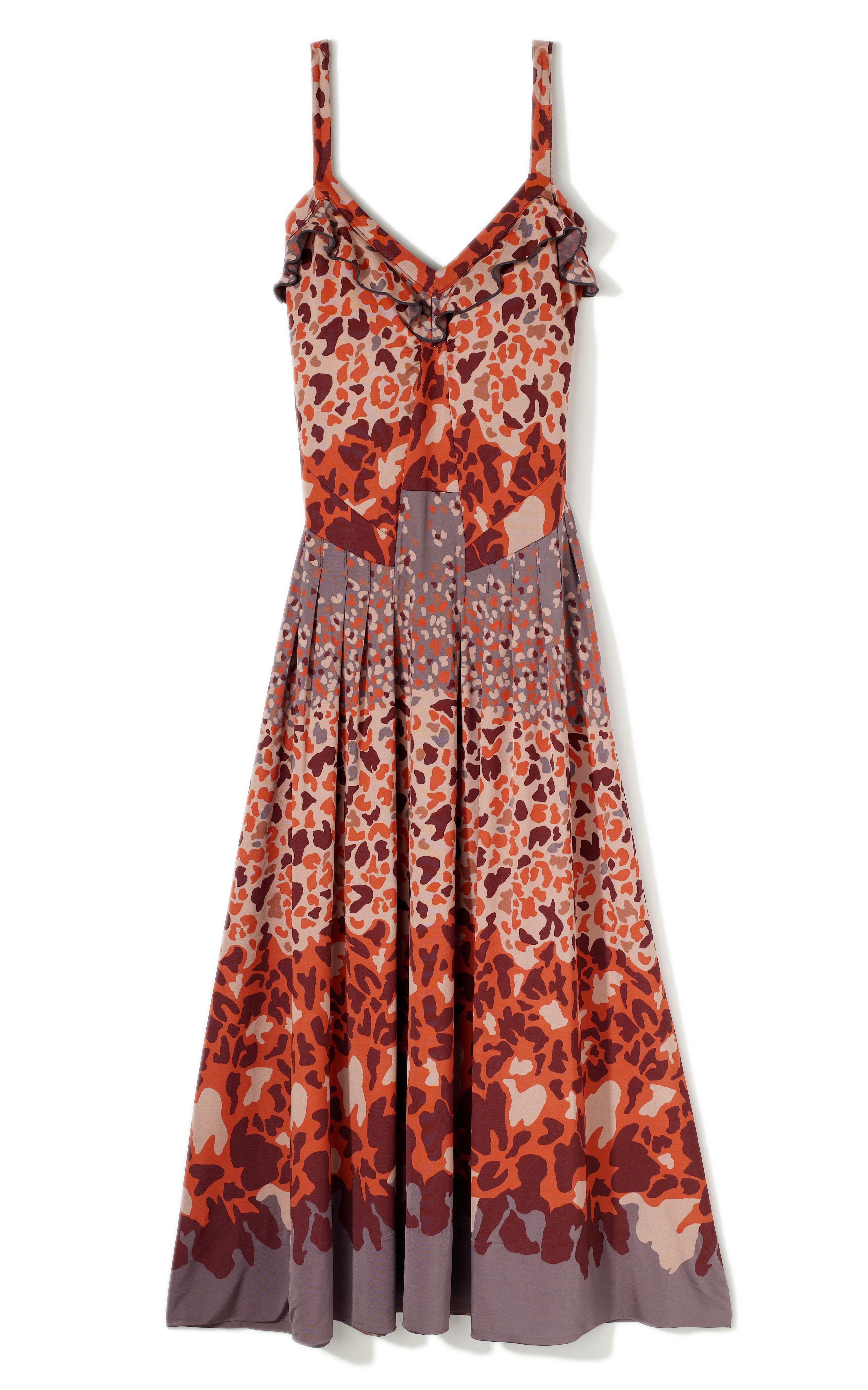 Camo and orange wedding dresses  Marc by Marc Jacobs Garden party dress  Gardening and Landscape