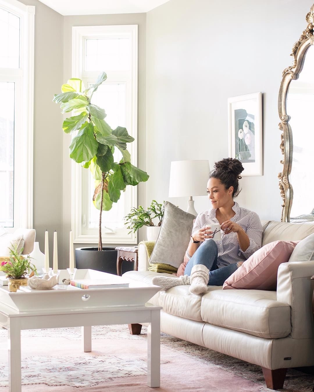 Cozy coffee moment in the living room | Living/Great Room ...