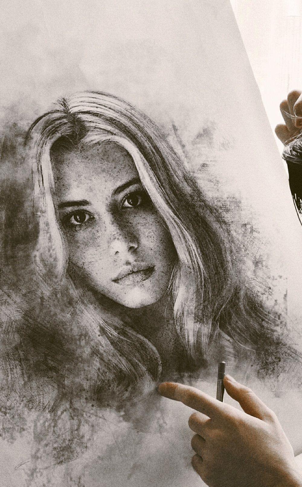 Astounding charcoal drawings by John Fenerov. Autumn Salon Interview.