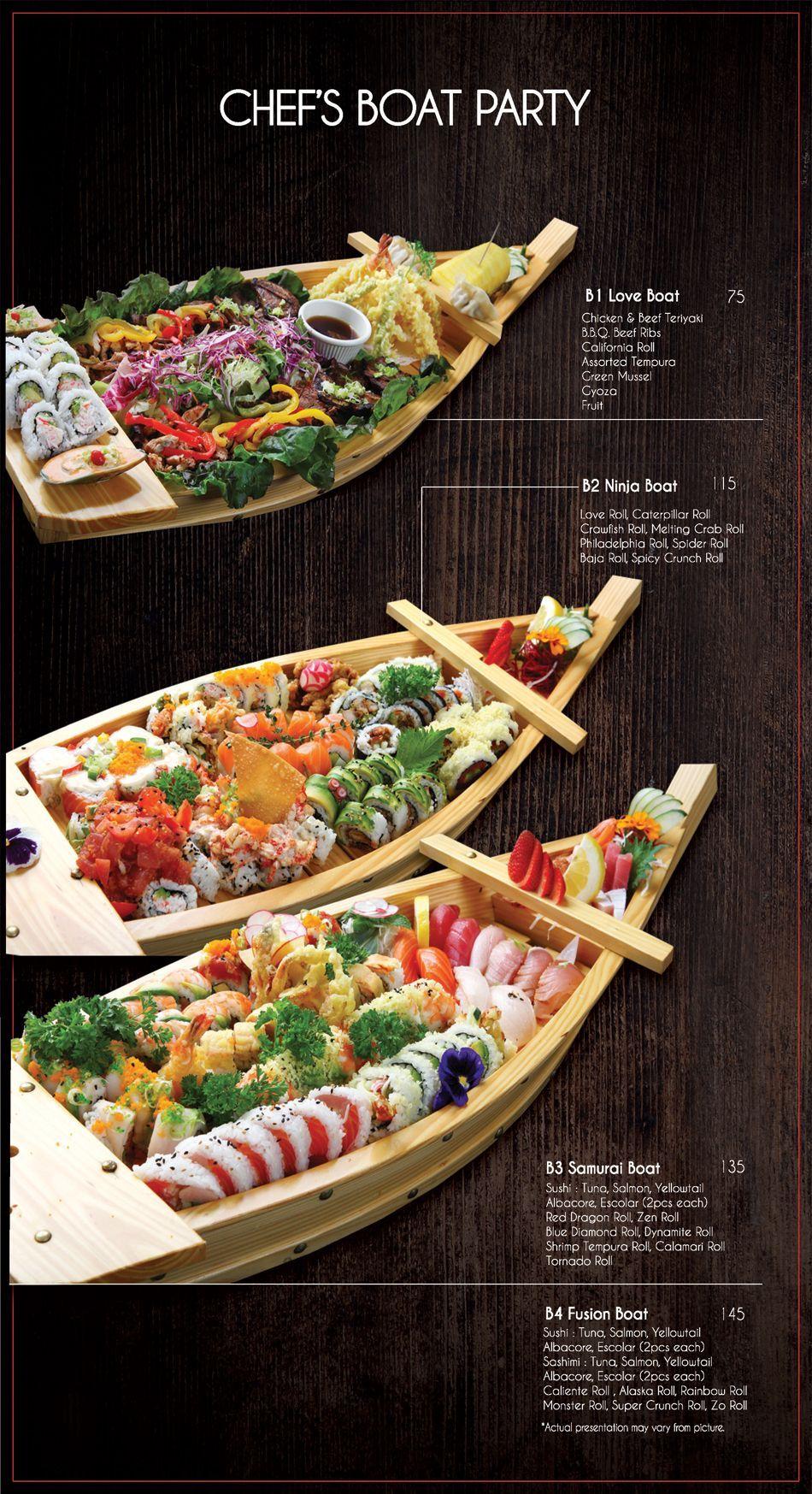 Menu Fusion Sushi Japanese Restaurant Manhattan Beach And Long Beach In California Sushirecipes Sushi Recipes Japanese Cooking Food