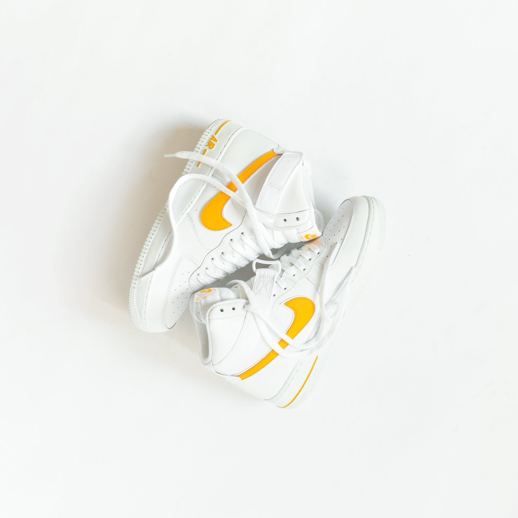 9a446b393 Nike Air Force 1 High '07 3 - White / University Gold - 12 in 2019 ...