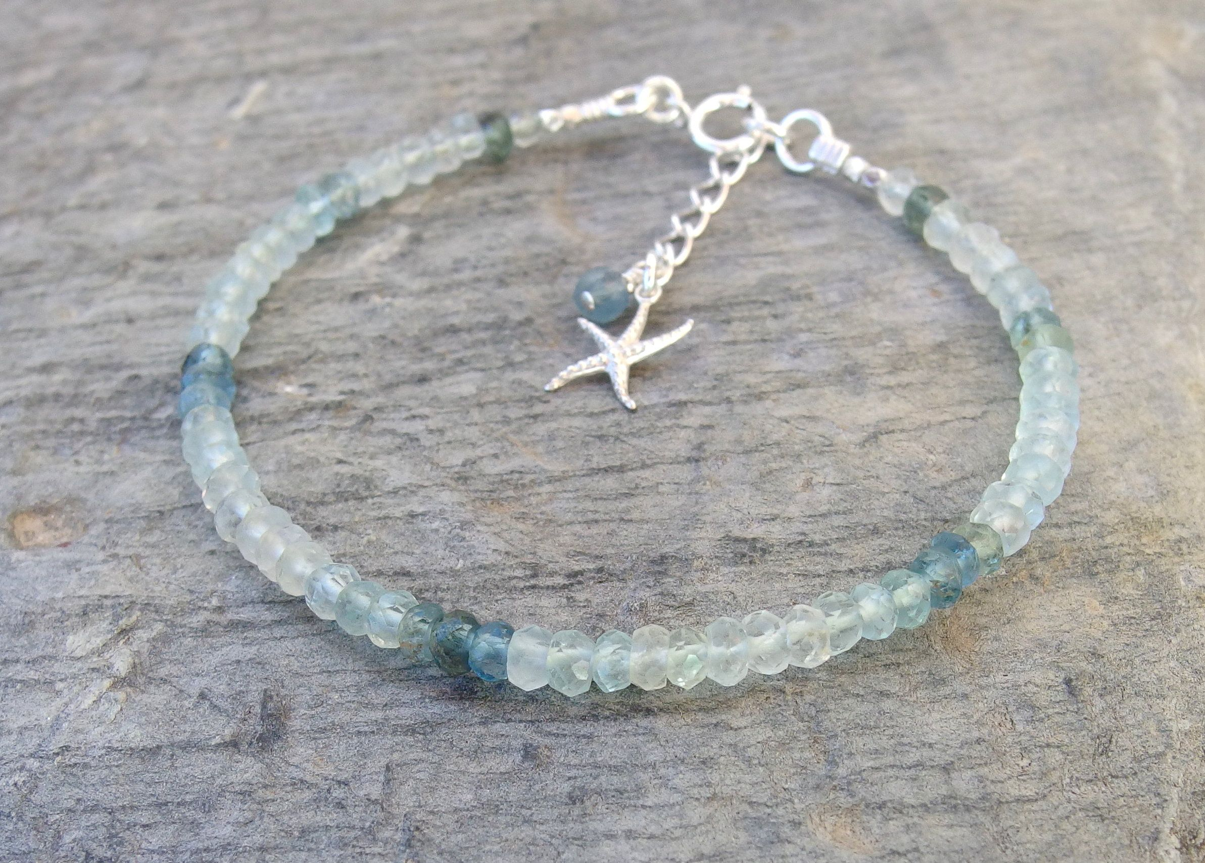 product rock bracelet rockstar aquamarine shop