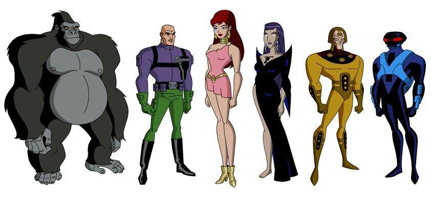 Dc Comics Dc Comics Characters Justice League Unlimited Comic Villains