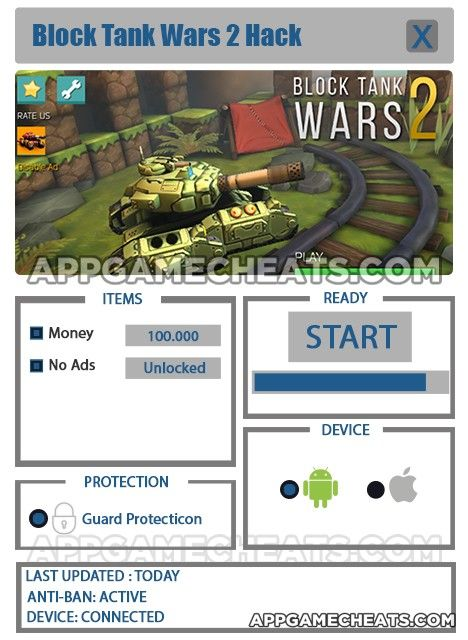 Block Tank Wars 2 Tips, Cheats, & Hack for Money & No Ads Unlock  #Action #BlockTankWars2 #Strategy http://appgamecheats.com/block-tank-wars-2-tips-cheats-hack/