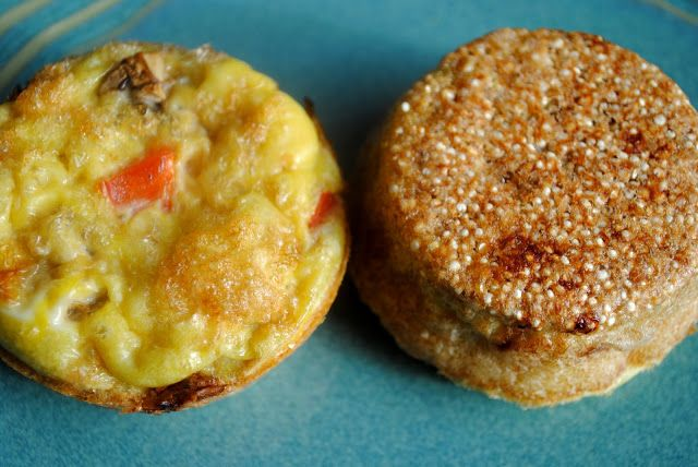 quinoa crusted veggie egg bake