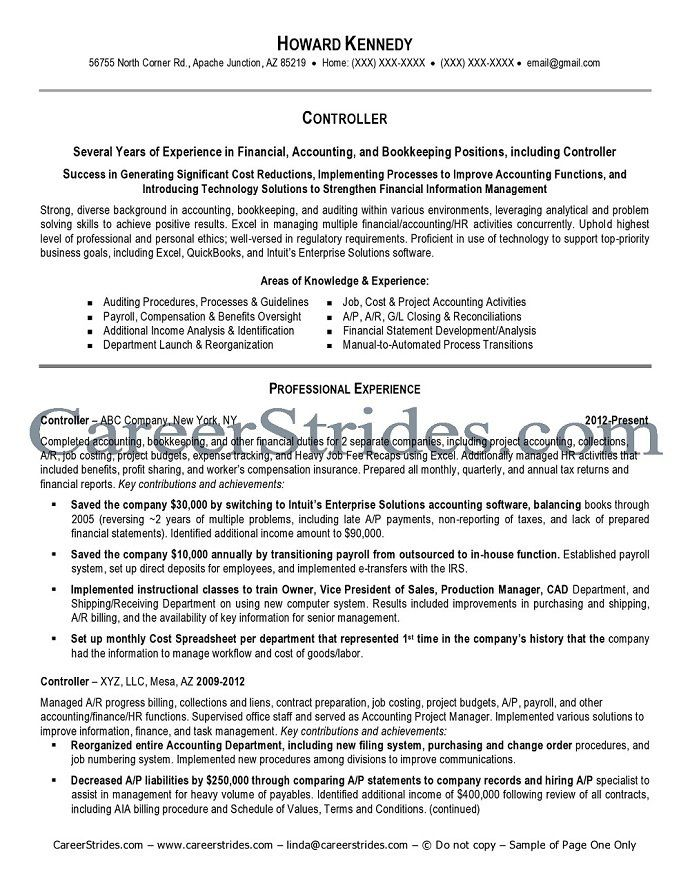 only page one this resume visible copyrighted not copy designs - project accountant sample resume