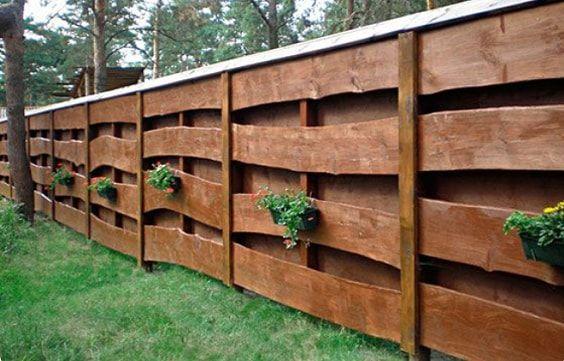 25+ am meisten inspirierende Redwood Zaun Designs Ideen, um Ihren Hof Stil #hofideen