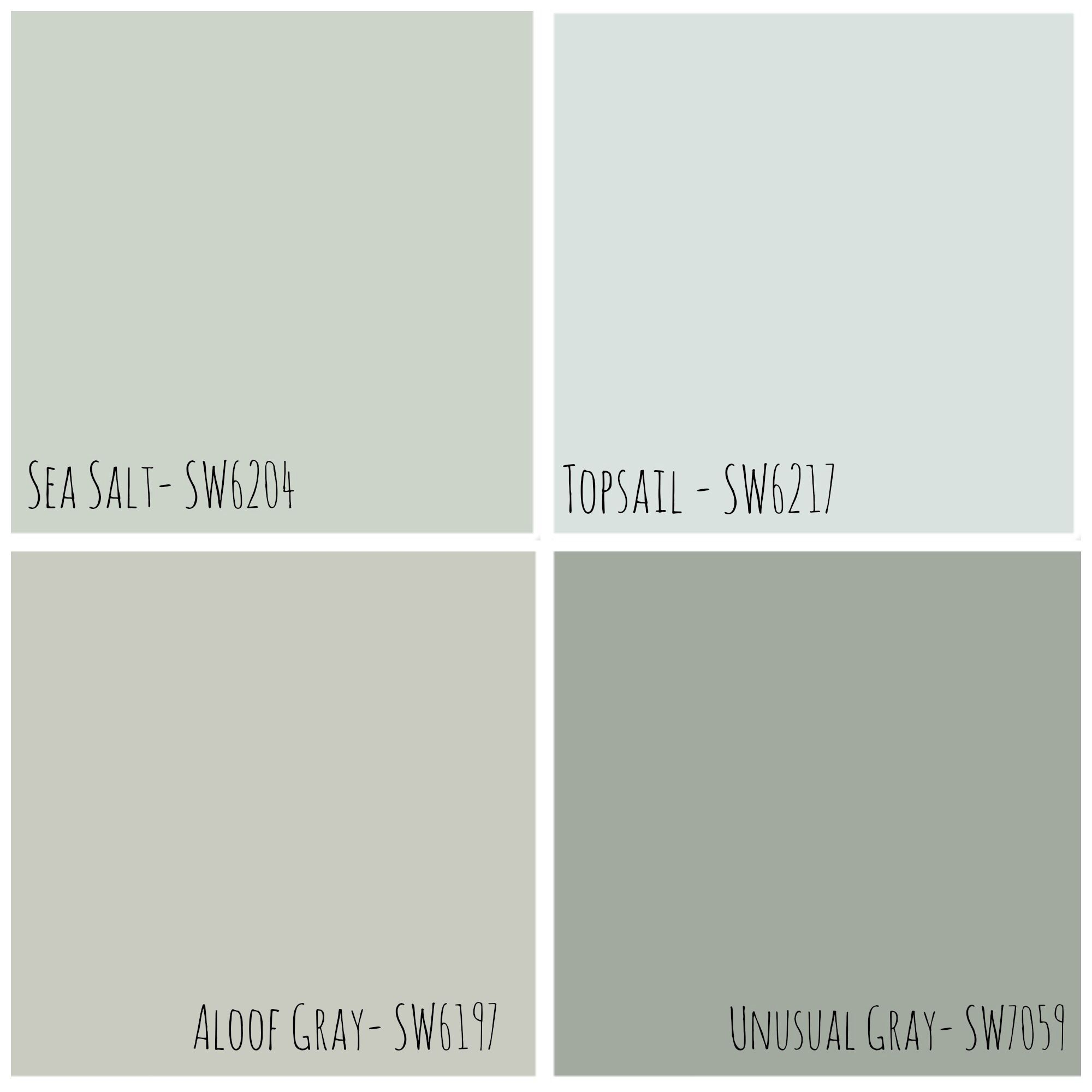Image Result For Sea Salt Sherwin Williams Paint Strip Sherwin Williams Paint Colors Paint Colors For Home Room Colors