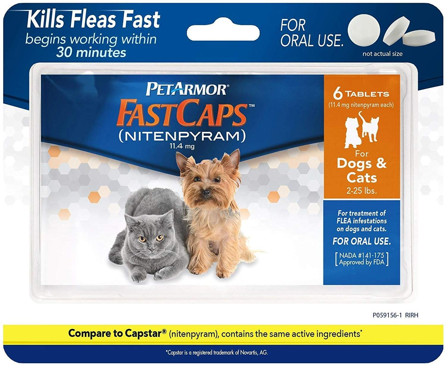 Petarmor Fastcaps For Dogs And Cats Dog Set 6 Ct We Appreciate You For Visiting Our Photograph This Is An Cat Fleas Dog Flea Treatment Flea Treatment