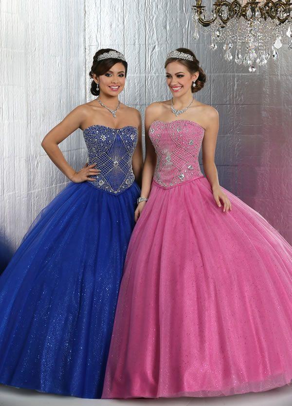 Vestidos de quinceañera estilo princesa 2015 de Davinci Bridal | xv ...