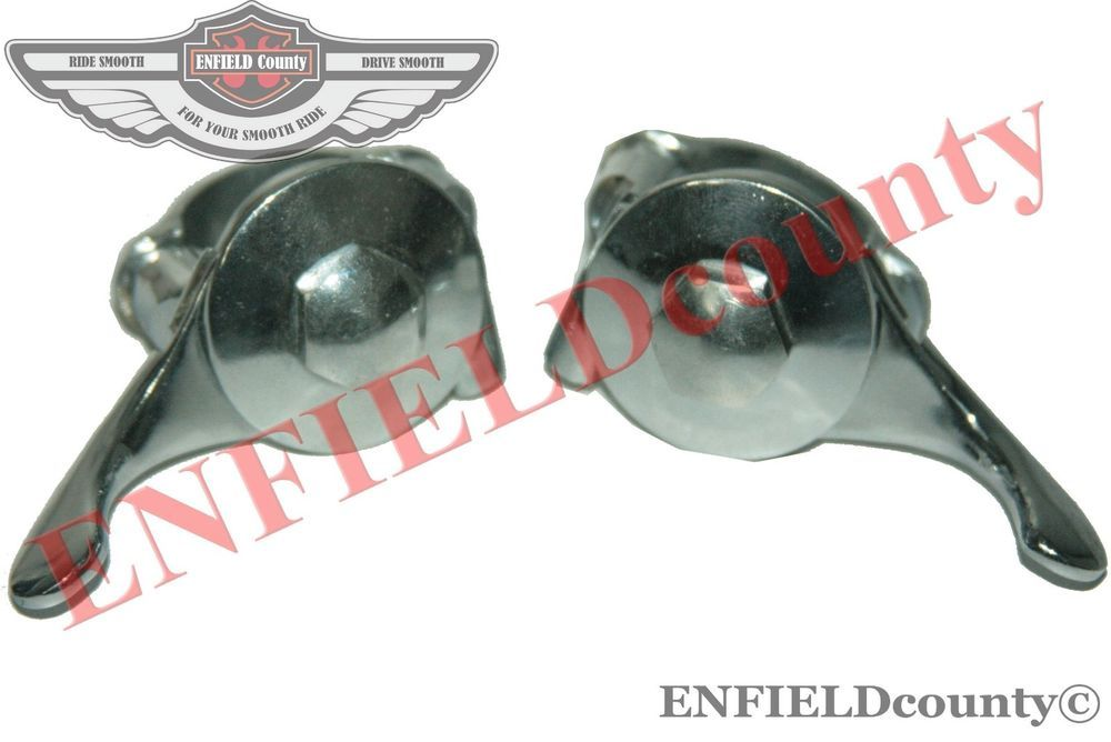 NEW PAIR 1 UNIVERSAL FIT LEFT RIGHT CHROME PLATED CHOKE