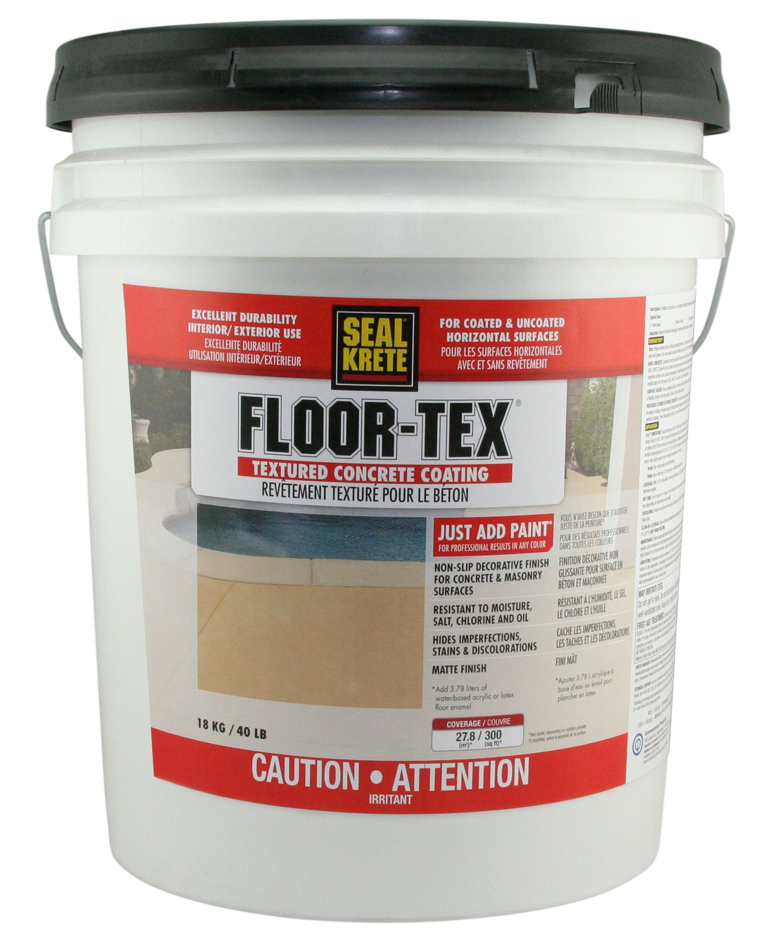 Floor Tex Textured Paint For Pool Decks