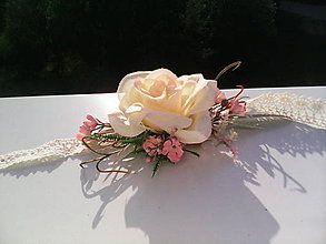 Náramky - Kvetinový náramok \