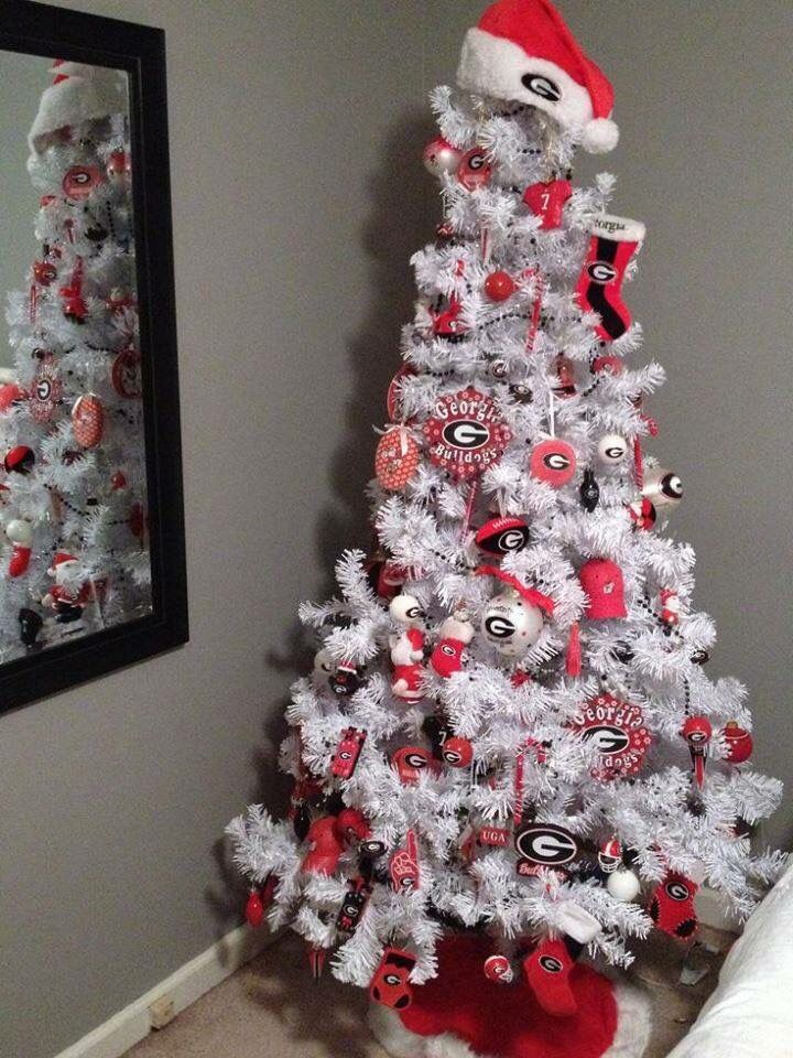 GA Bulldog Christmas Tree - GA Bulldog Christmas Tree Holidays Pinterest Georgia Bulldogs