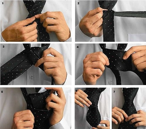 Kak Zavyazat Galstuk Poshagovo Foto Prostoj Sposob Video Drugoe Thumb Accessories