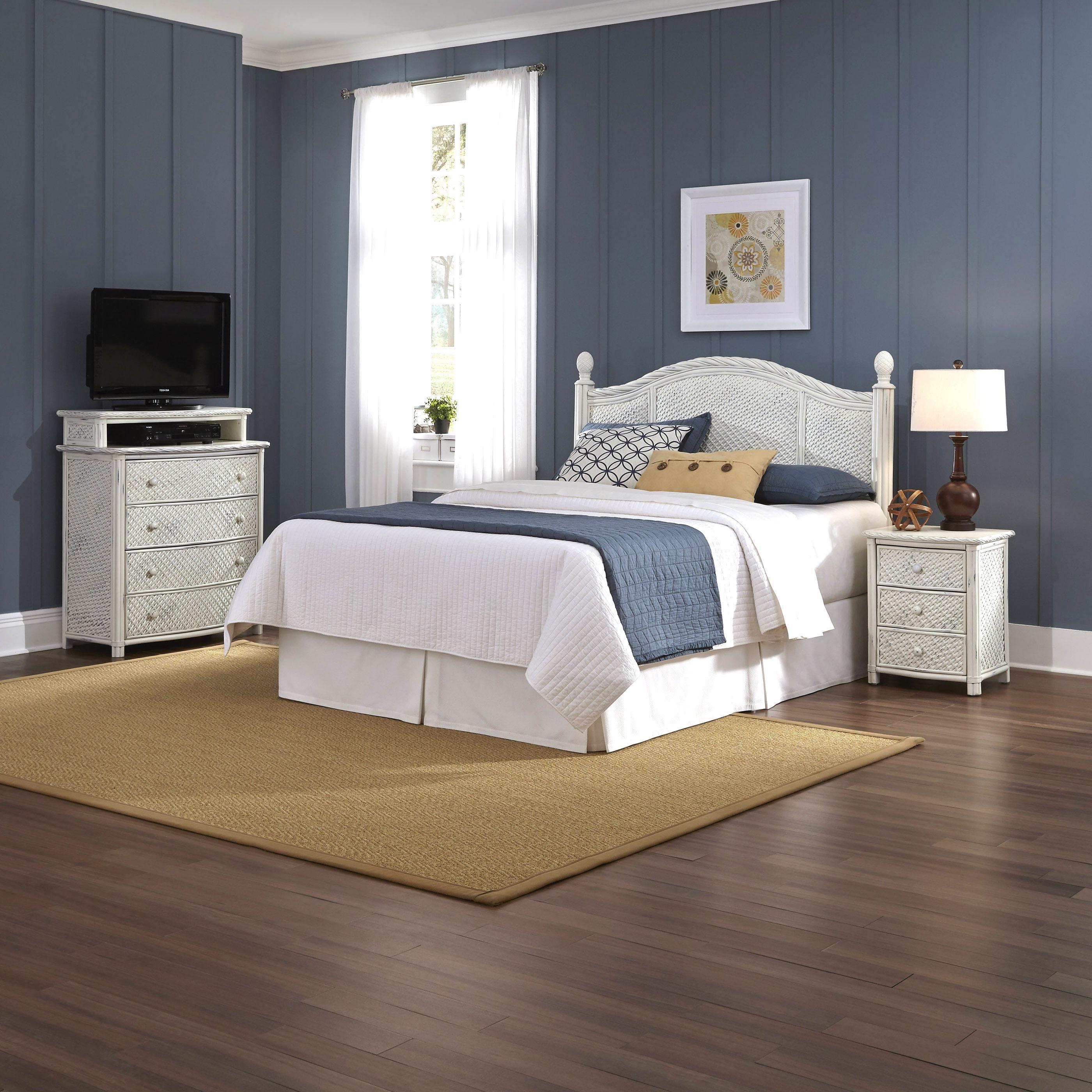 Home styles marco island queen full headboard.