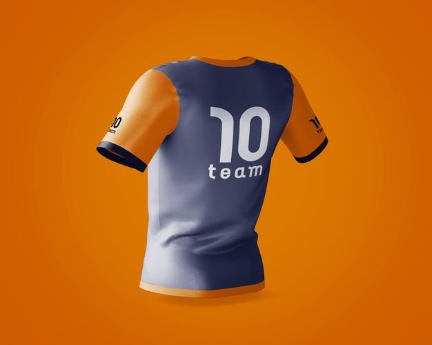 Download Download Sports Shirt Mockup With Brand Logo For Free Shirt Mockup Sports Shirts Fashion Logo Design