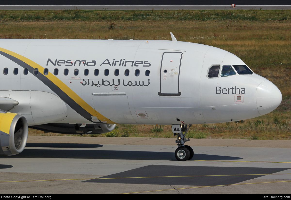 Su Nma Nesma Airlines Airbus A320 232 Cn 1697 Airbus Air Carrier Airlines