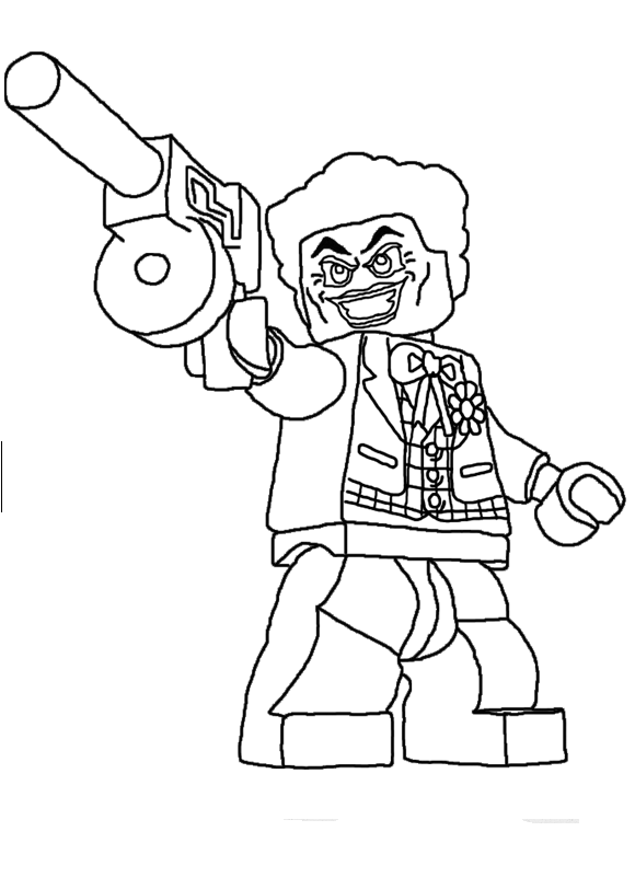 Lego Coloring Pages Resim