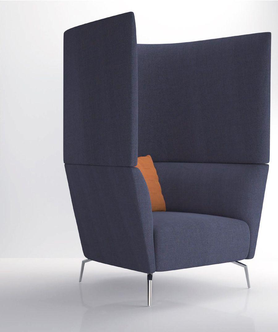 Kas Modular Acoustic High Back Sofa Workspace Office Furniture Dubai Office Space Design Office Pods Office Furniture Modern