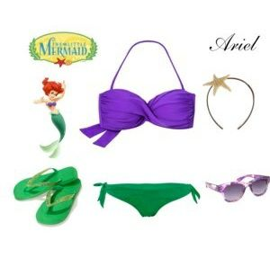Outfit Ariel... #Disney #moda #1001consejos