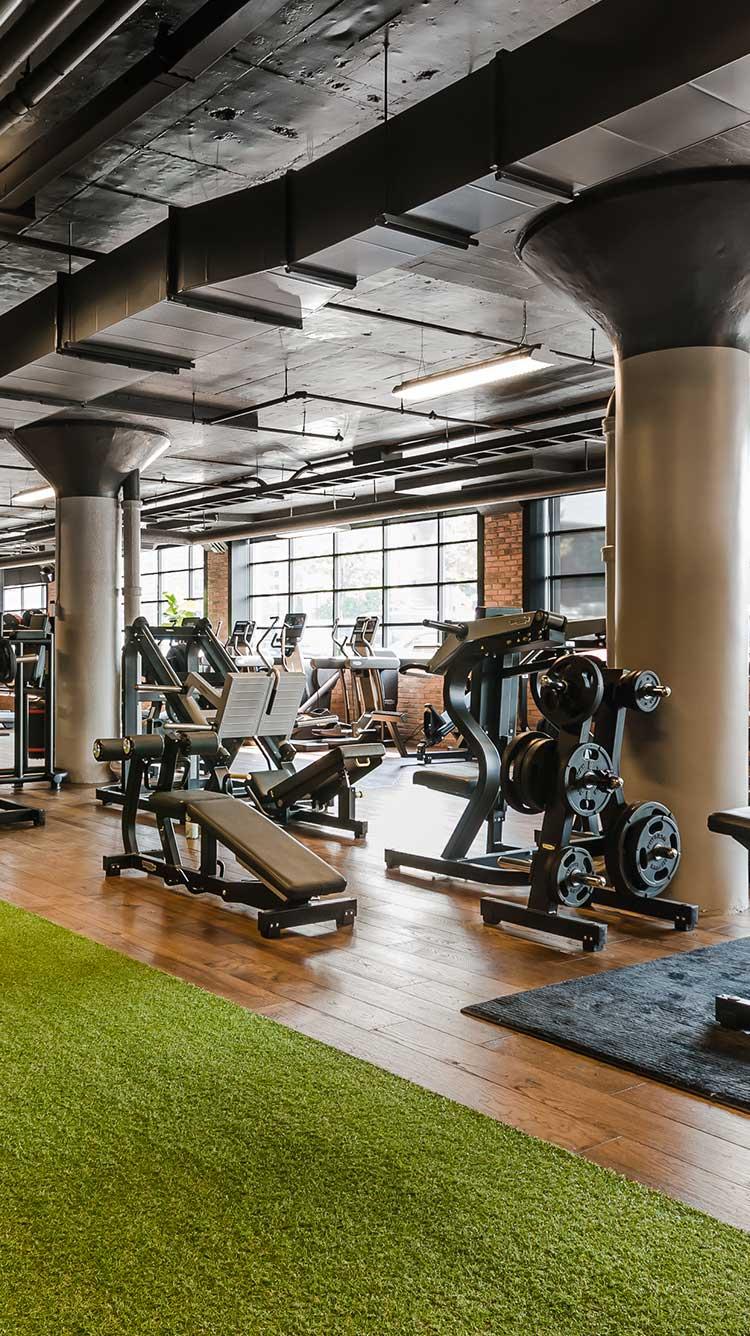 B52 Health Club Saint Henri Montreal Backyard Gym Gym Interior Wellness Club