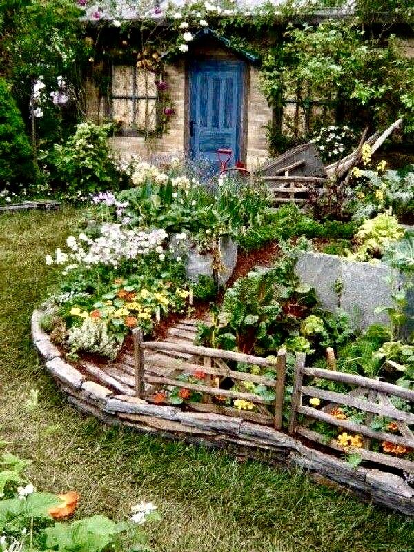 Pin by Terri Christensen Buckner on Gardening | Rustic ...