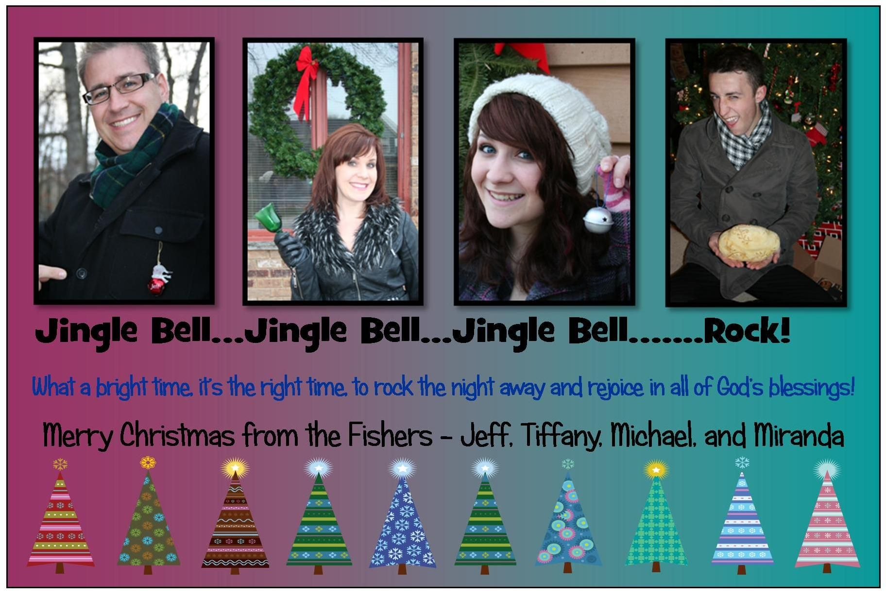 Merry Christmas from the Fisher clan!