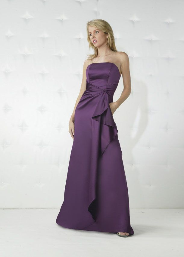 Da Vinci Bridesmaid 9104 Fabric Satin #timelesstreasure | Bridesmaid ...