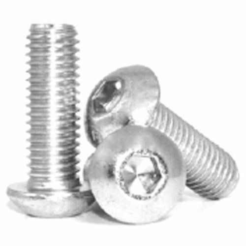 M6 X 25mm Button Head Cap Screw Stainless Steel Pack Of 10 By Lindstrom 8 19 Button Head Socket Cap Screw 6mm Diamete Home Hardware Hardware Thread Pitch
